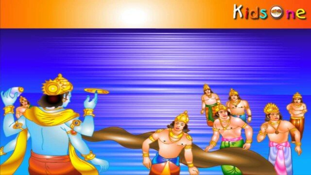 Dashavatara In Hindi    Kurmavatar    The Tortoise    with Animation