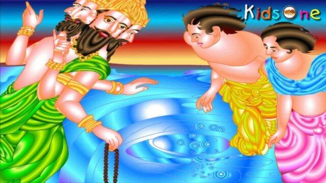 Dashavatara In Hindi || Varahavatar || The Boar || with Animation