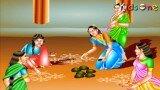 Hindu Festivals || History of Sankranthi In Telugu || with Animation