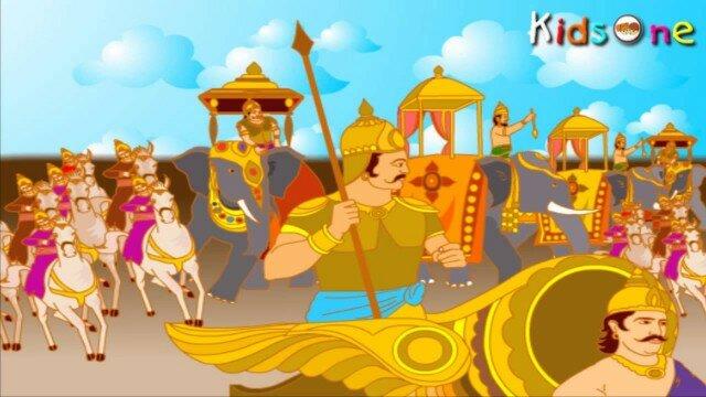 Lava Kusa In Telugu || with Animation