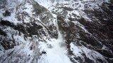 Avalanche near Badrinath Temple