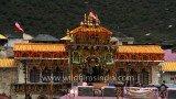 Badrinath temple – evening view