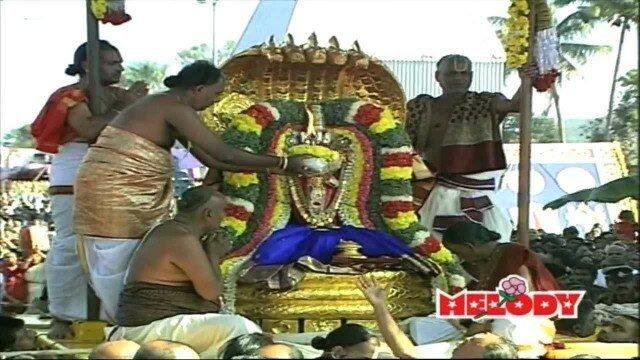 Hari mandhiram sung by Mahanadhi Shobana – Namo Namo Sri Narayana