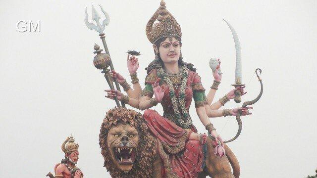 Maa Vaishno Devi (Vrindavan Ashram)