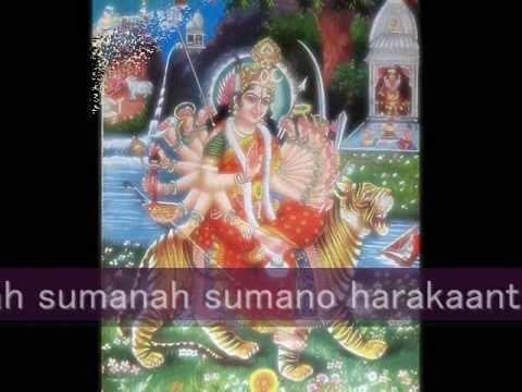 Mahisasura Mardini – Sanskrit (in Traditional Tone)