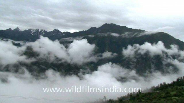 Mountanious Landscape of Badrinath
