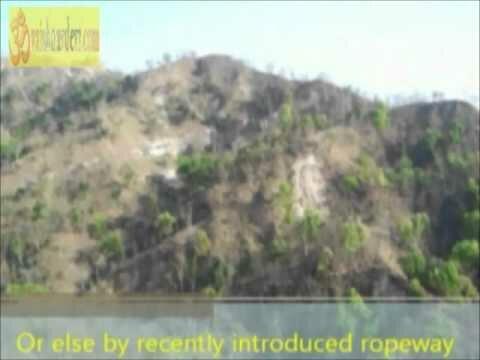 Ropeway to Chandi Devi Temple Haridwar Uttaranchal India.