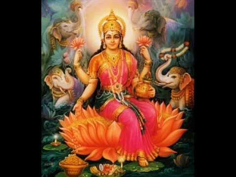 Sowbhagya lakshmi ravama – Lakshmi aarti with lyrics