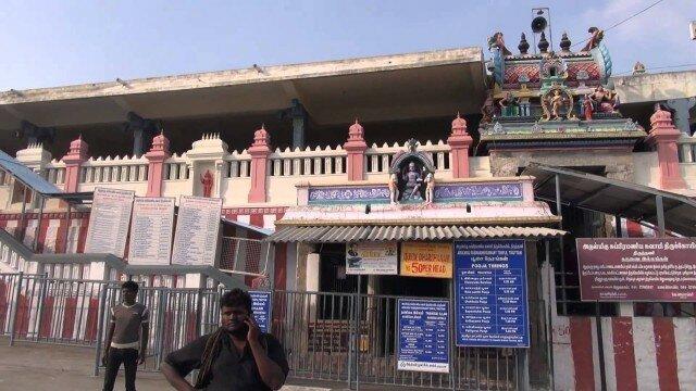 Thiruthani Murugan  திருத்தணி முருகன் Foot Path