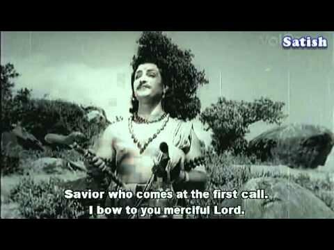 Deva Deva Davalachala – Bhookailas – Telugu Devotional Songs – NTR   Ghantasala.flv