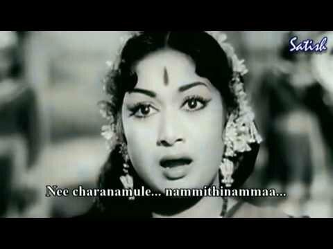 Janani Shiva Kamini with lyrics   Narthanasala   Telugu Old Classics   Savitri   P Susheela