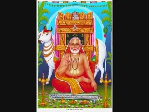 Poojaya Raghavendraya Satya Dharma Ratayacha…